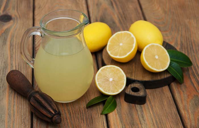Lemon juice for Jaundice in Hindi