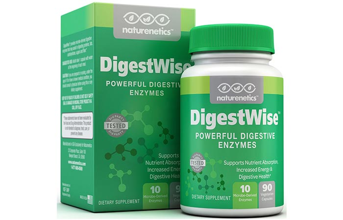Naturenetics DigestWise Powerful Digestive Enzymes