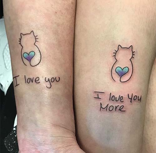 Mother and Daughter Matching Tattoo Ideas