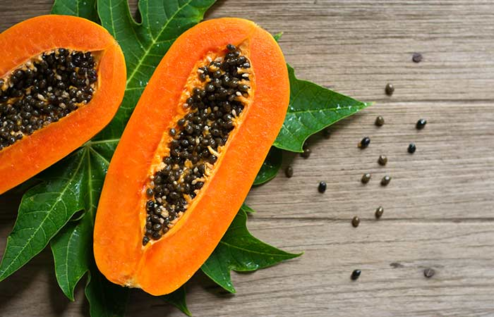 Papaya for white spots treatment in hindi