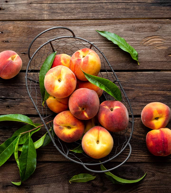 Peach Aadu fruit Benefits and Side Effects in Hindi