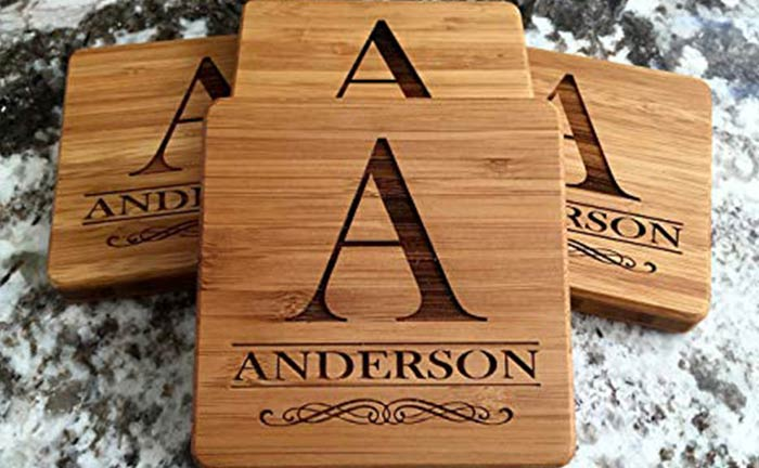 Personalized Coasters With Name