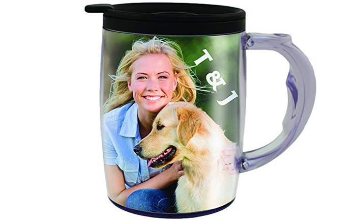 Personalized cup with picture