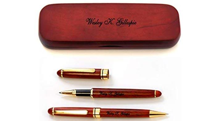 Personalized pens set