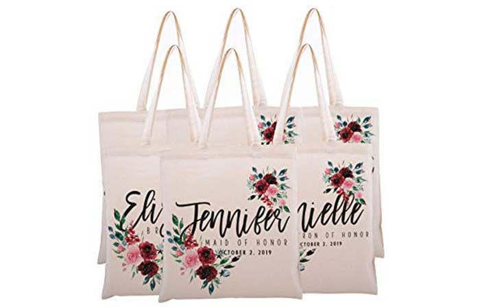 Personalized Tote Bag With Name