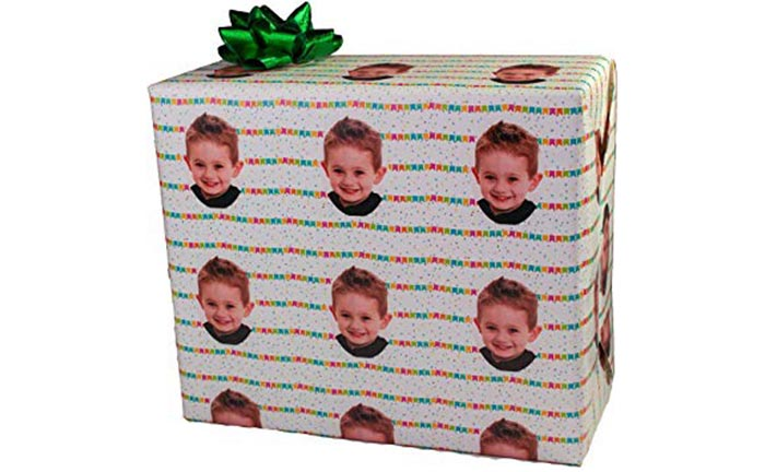 Personalized Wrapping Paper With Photo