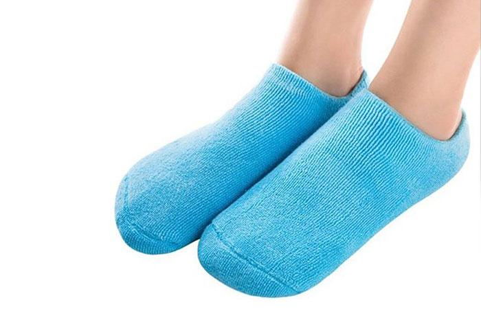 Pinkiou Spa Moisturizing Gel Socks