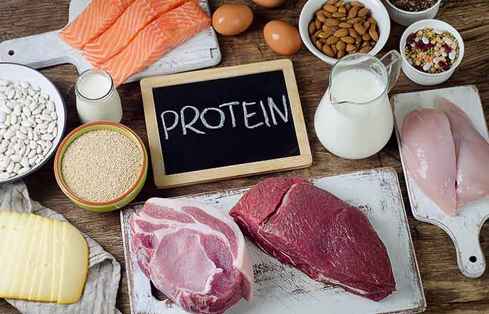 Protein with food