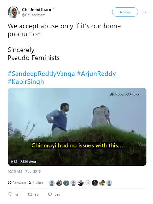 Samantha and Chinmaye trolls for syllable Sandeep Reddy, their epic answer Burns Trolls