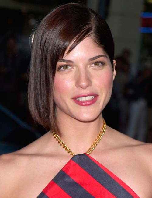 Straight Bob With Deep Parting