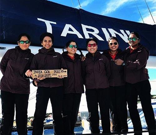 INSV Tarini of all women