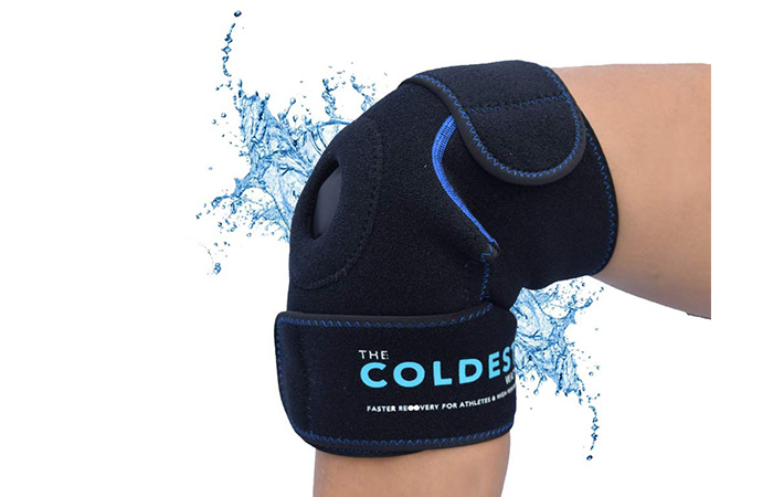 The Coldest Water Knee Ice Pack Wrap