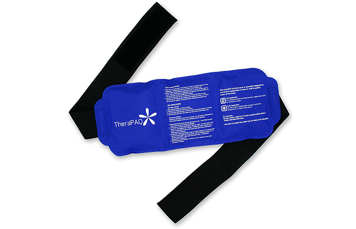 Therapaq Flexible Ice Pack With Wrap For Hot & Cold Therapy