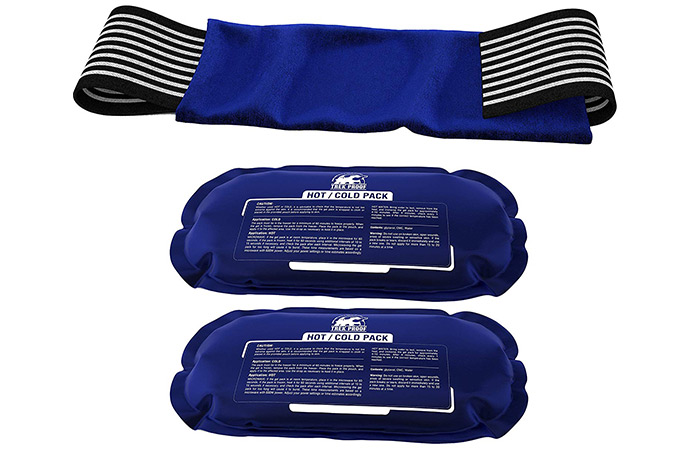TrekProof Ice Packs(2) With Strap