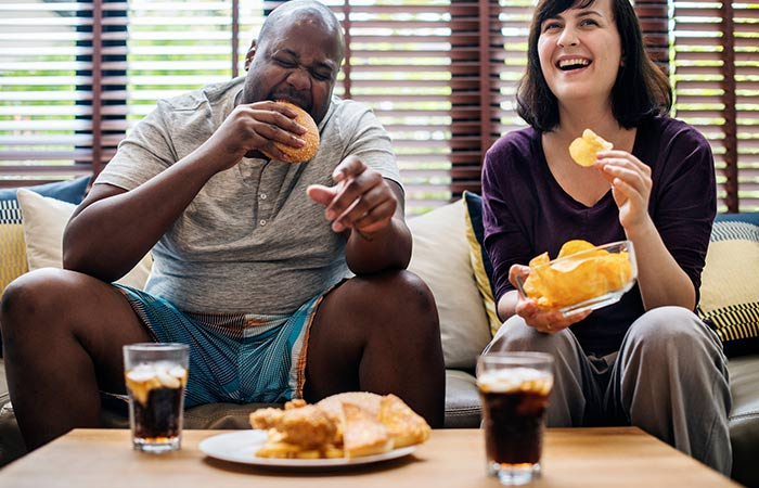 Weight Gain Among Married Couples Is Contagious