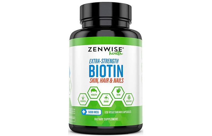 Zenwise Health Extra Strength Biotin