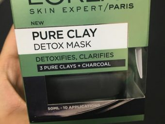 L'Oreal Paris Pure Clay Exfoliating And Refining Face Mask -Value for money Product-By riya_neema