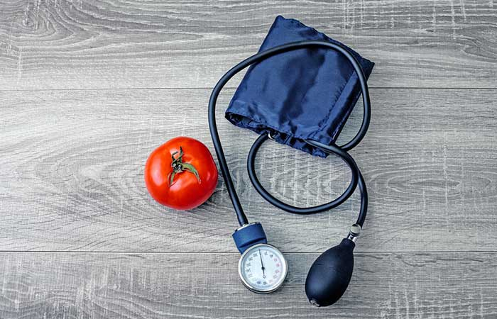 Tomato Beneficial in blood pressure