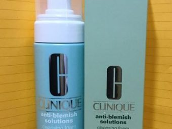 Clinique Anti Blemish Solutions Cleansing Foam -Feel fresh and Energized-By kirti_sharma