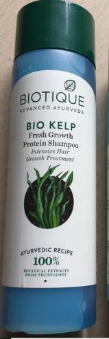 Biotique Bio Kelp Fresh Growth Protein Shampoo-Takes time but natural and safe for hairs-By kirti_sharma