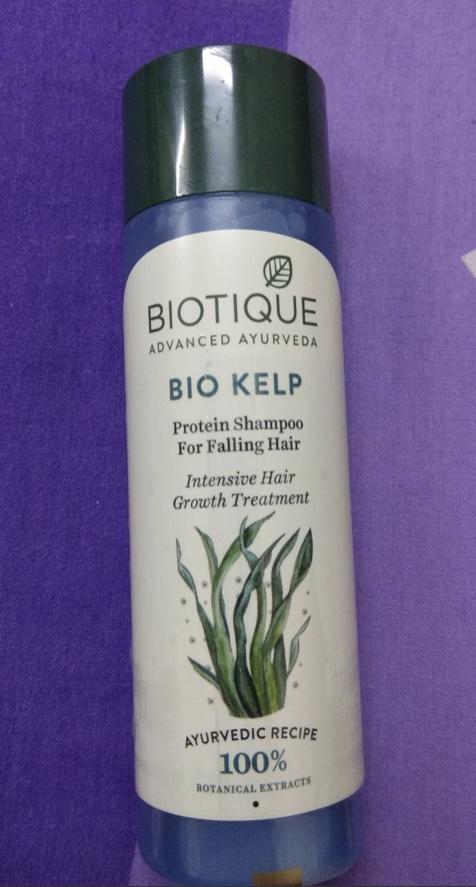 Biotique Bio Kelp Fresh Growth Protein Shampoo-Average !-By kiranbir_-3