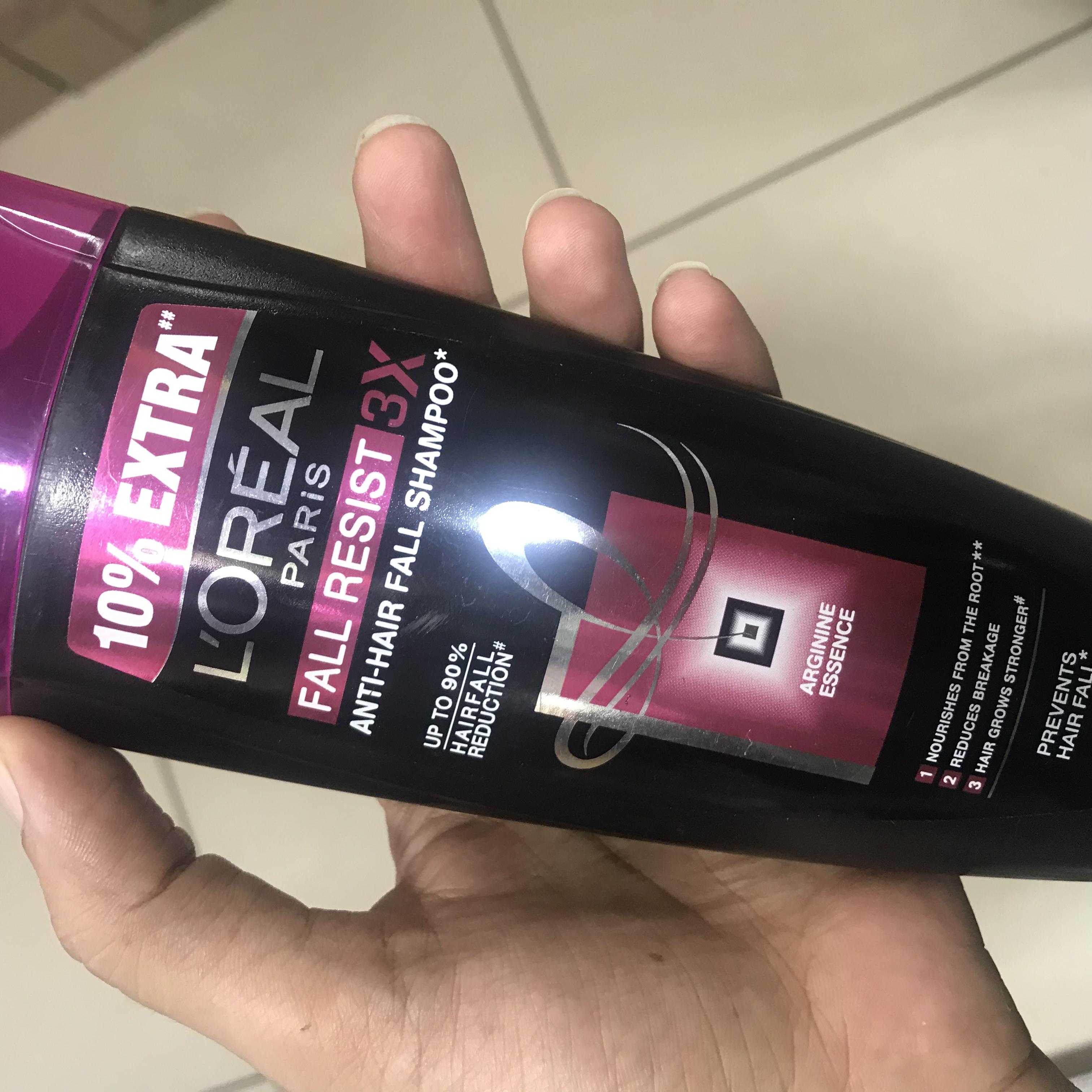 L'Oreal Paris Fall Resist 3x Anti Hair Fall Shampoo-Nothing great !-By kiranbir_