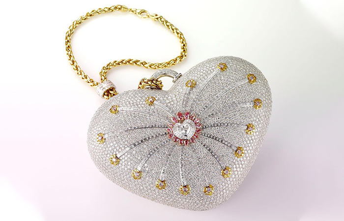 1. Mouawad 1001 Nights Diamond Bag