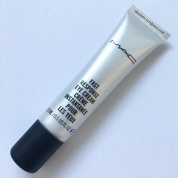 MAC Fast Response Eye Cream-Instant effect-By riya_neema