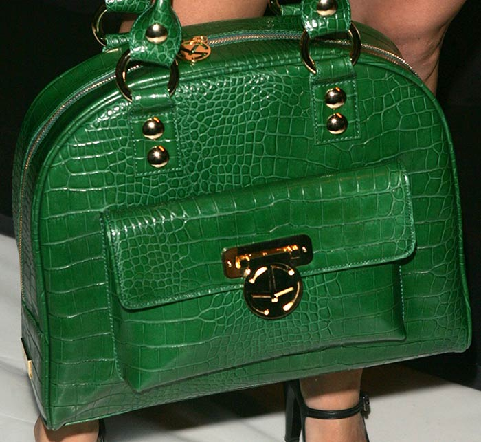 14. The Row Margaux Alligator Top Handle Bag