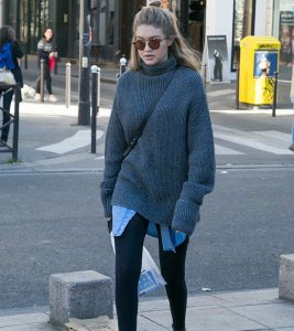 14 Cute Long Sweaters To Wear With Leggings
