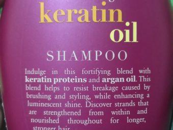 OGX Anti Breakage Keratin Oil Shampoo pic 1-Happy with product-By meeraba_chudasama