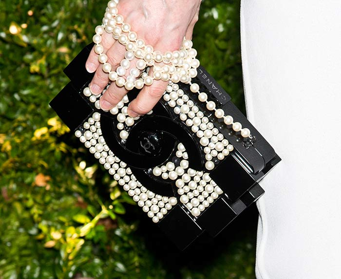 19. Chanel Pearl Lego Brick Clutch