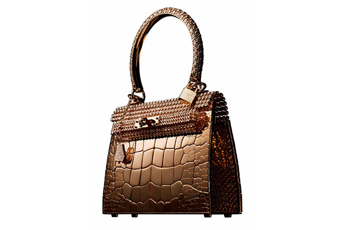 2. Hermès Kelly Rose Gold