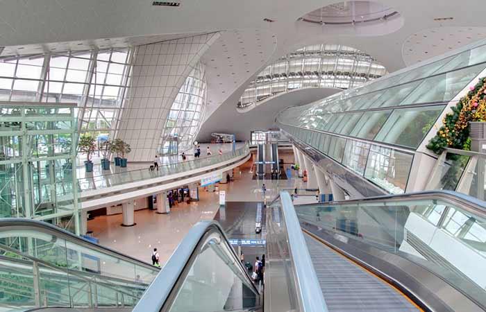 #2 – Incheon International Airport, Incheon, South Korea