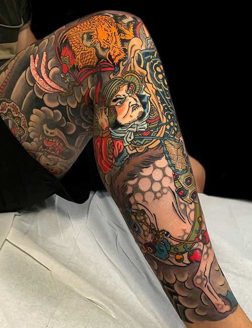 2. Japanese Samurai Tattoo