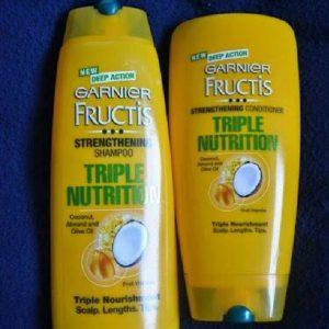 Garnier Fructis Triple Nutrition Fortifying Shampoo pic 2-Too much of hairfall-By shruti_joshi