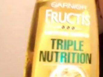 Garnier Fructis Triple Nutrition Fortifying Shampoo pic 1-Too much of hairfall-By shruti_joshi