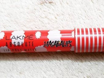 Lakme Absolute Lip Pout Matte Masaba Lips Lip Color pic 1-Not highly pigmented-By shruti_joshi