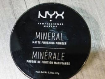 NYX Professional Makeup Mineral Matte Finishing Powder pic 2-Not recommended for oily skin-By shruti_joshi