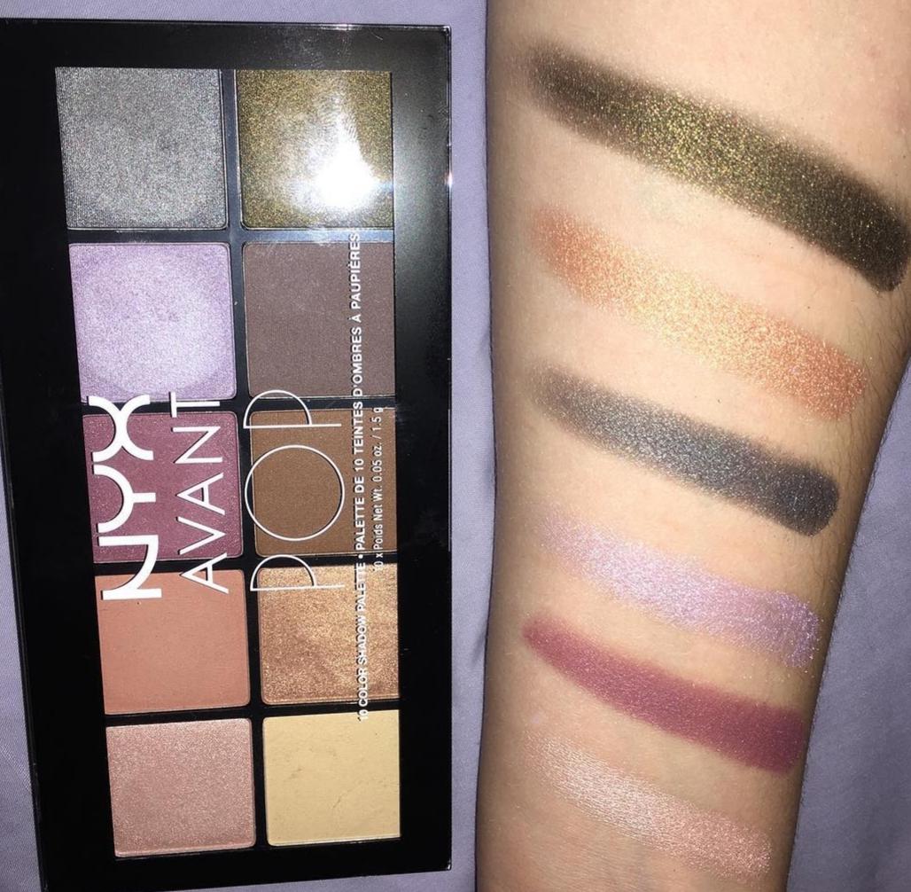 NYX Professional Makeup Avant Pop! Shadow Palette pic 1-Chic eye shadows-By shruti_joshi