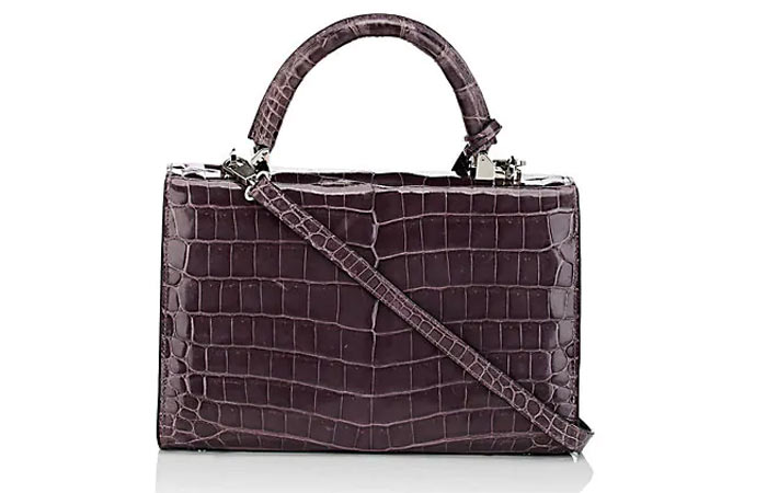 21. Stalvey Top-Handle 2.5 Small Alligator Satchel