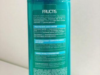 Garnier Fructis Triple Nutrition Fortifying Shampoo pic 2-Affordable product !-By ranjani