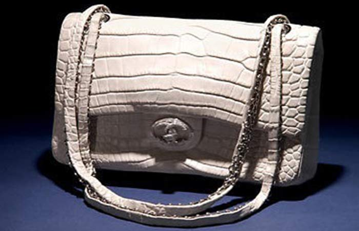 24. Chanel Diamond Forever Handbag
