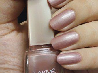 Lakme True Wear Nail Color pic 2-The Glossy , Shiny Nail Polish is Brilliant !-By ranjani