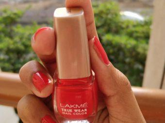 Lakme True Wear Nail Color pic 1-The Glossy , Shiny Nail Polish is Brilliant !-By ranjani