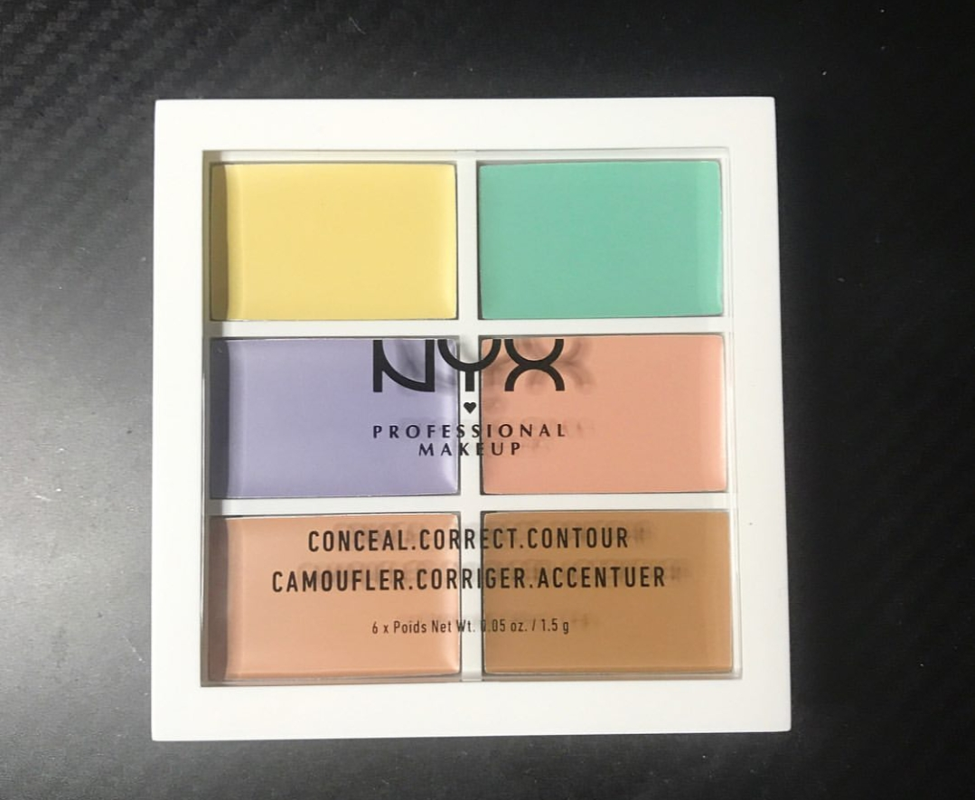NYX Professional Makeup Conceal Correct Contour Palette pic 2-Multi purpose and highly recommend this product-By ranjani
