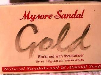 Mysore Sandal Gold Soap pic 2-Contains pure sandalwood oil-By riya_neema