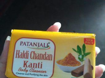 Patanjali Haldi Chandan Kanti Body Cleanser -Mild on skin-By divyani_verma