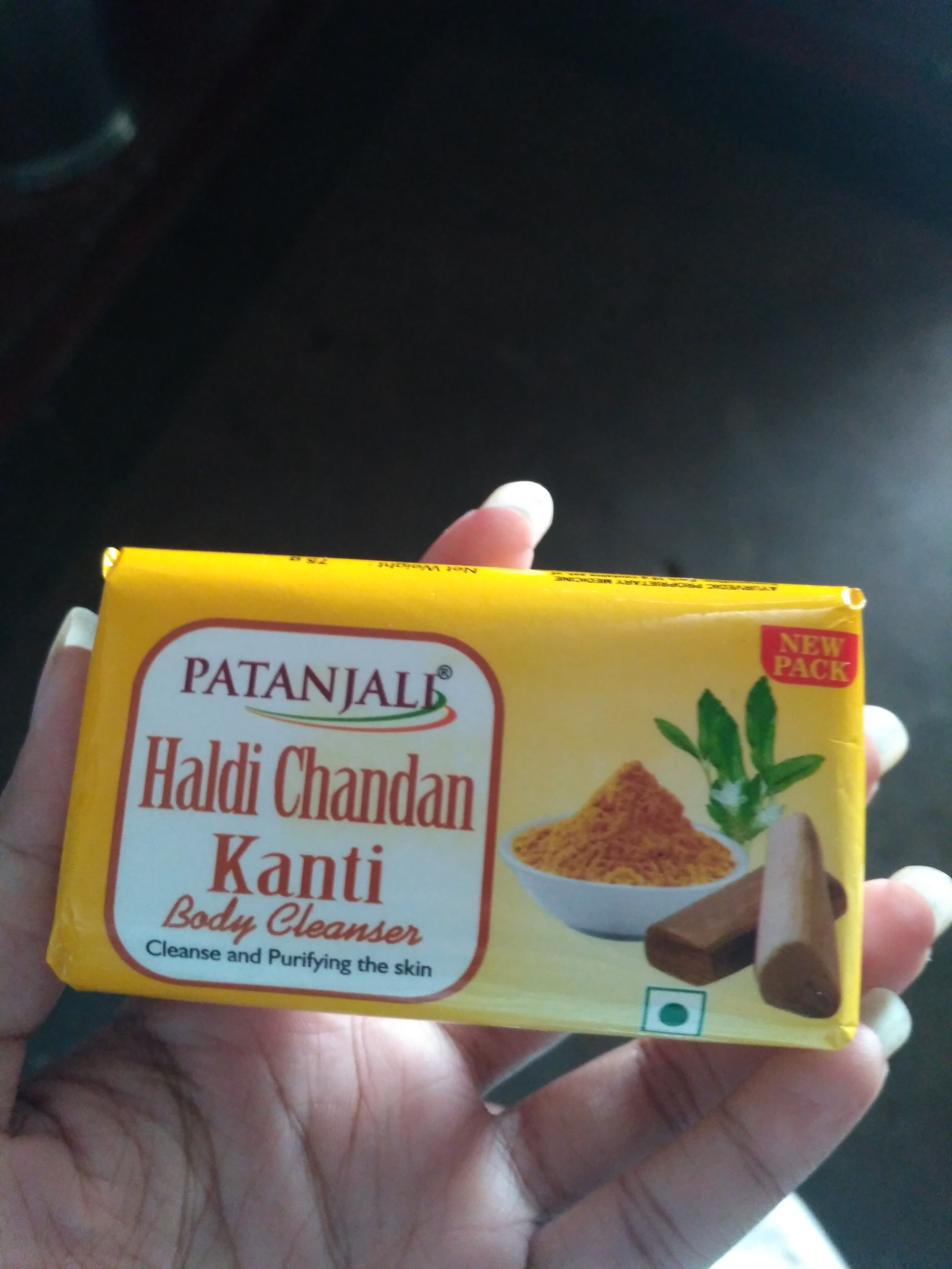 Patanjali Haldi Chandan Kanti Body Cleanser -Mild on skin-By divyani_verma