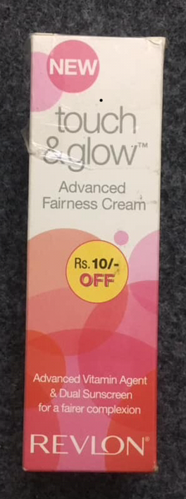 Revlon Touch And Glow Advanced Fairness Cream-Not For Dry Skin !!-By sindoori_jayaprakash-1
